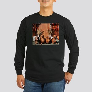 Pia Red Bink Rommel Photo-1 Long Sleeve Dark T-Shi